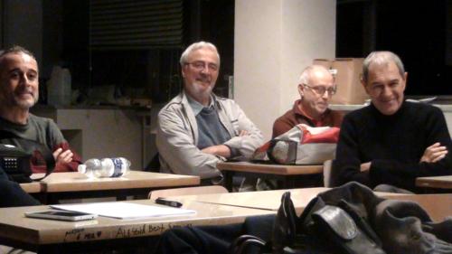 """Alcuni dei partecipanti alla lezione di """"autobiografia e storia"""" - 23/11/2018"""