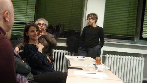 I partecipanti discutono sui temi trattati - 11/12/2018