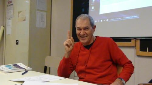 Gianpaolo Fissore tiene il corso sull'autobiografia - 12/11/2018